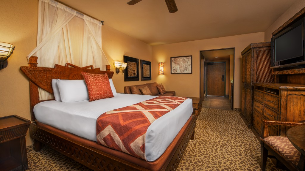 disney's animal kingdom lodge guest room