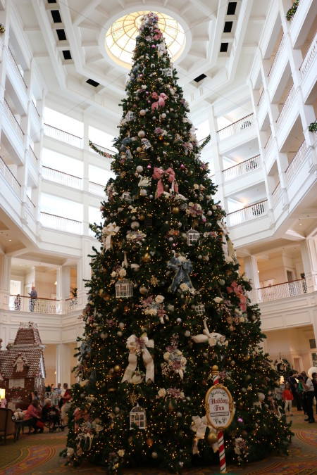 Disney's Grand Floridian Resort & Spa Christmas tree