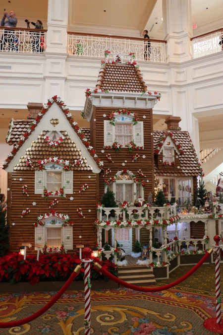 Disney's Grand Floridian Resort & Spa gingerbread house