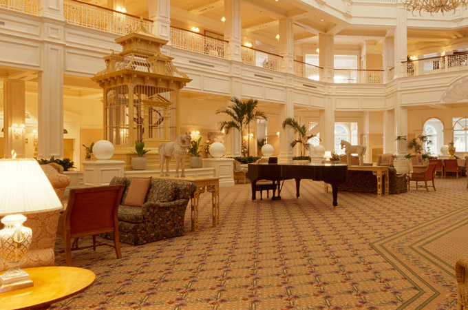 Disney's Grand Floridian Resort & Spa lobby