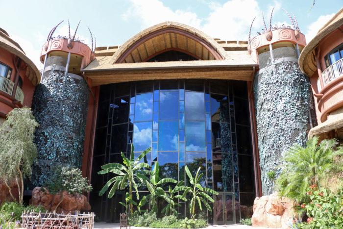 Disney's Animal Kingdom Lodge lobby window