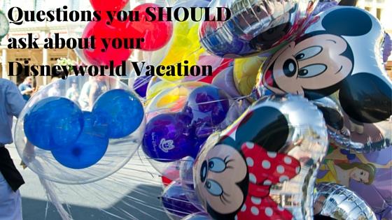 disneyworld vacation questions
