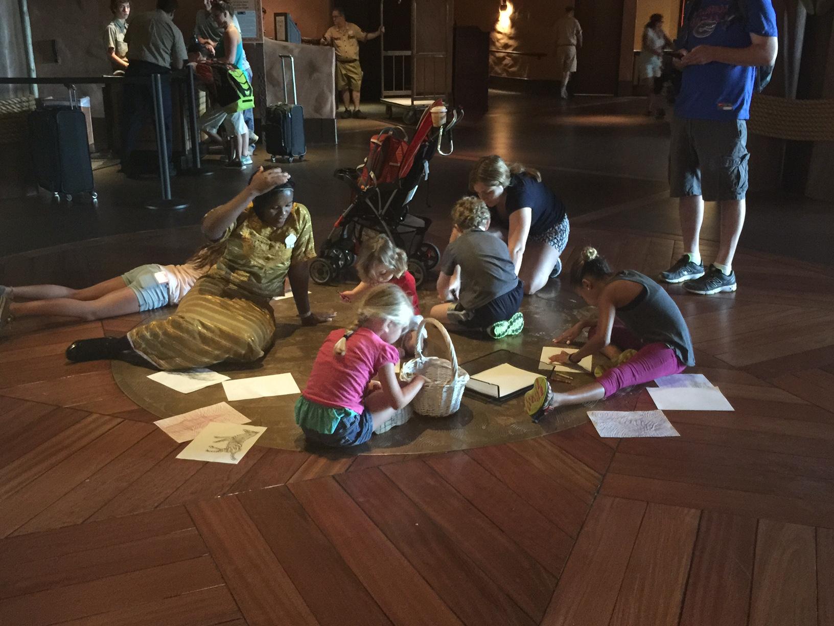 animal kingdom lodge kids activities