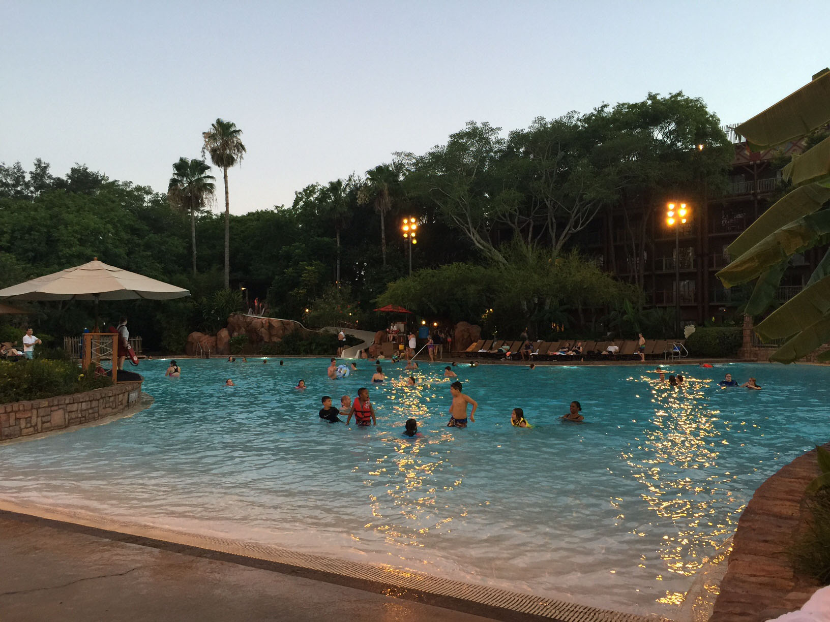 animal kingdom lodge uzima pool