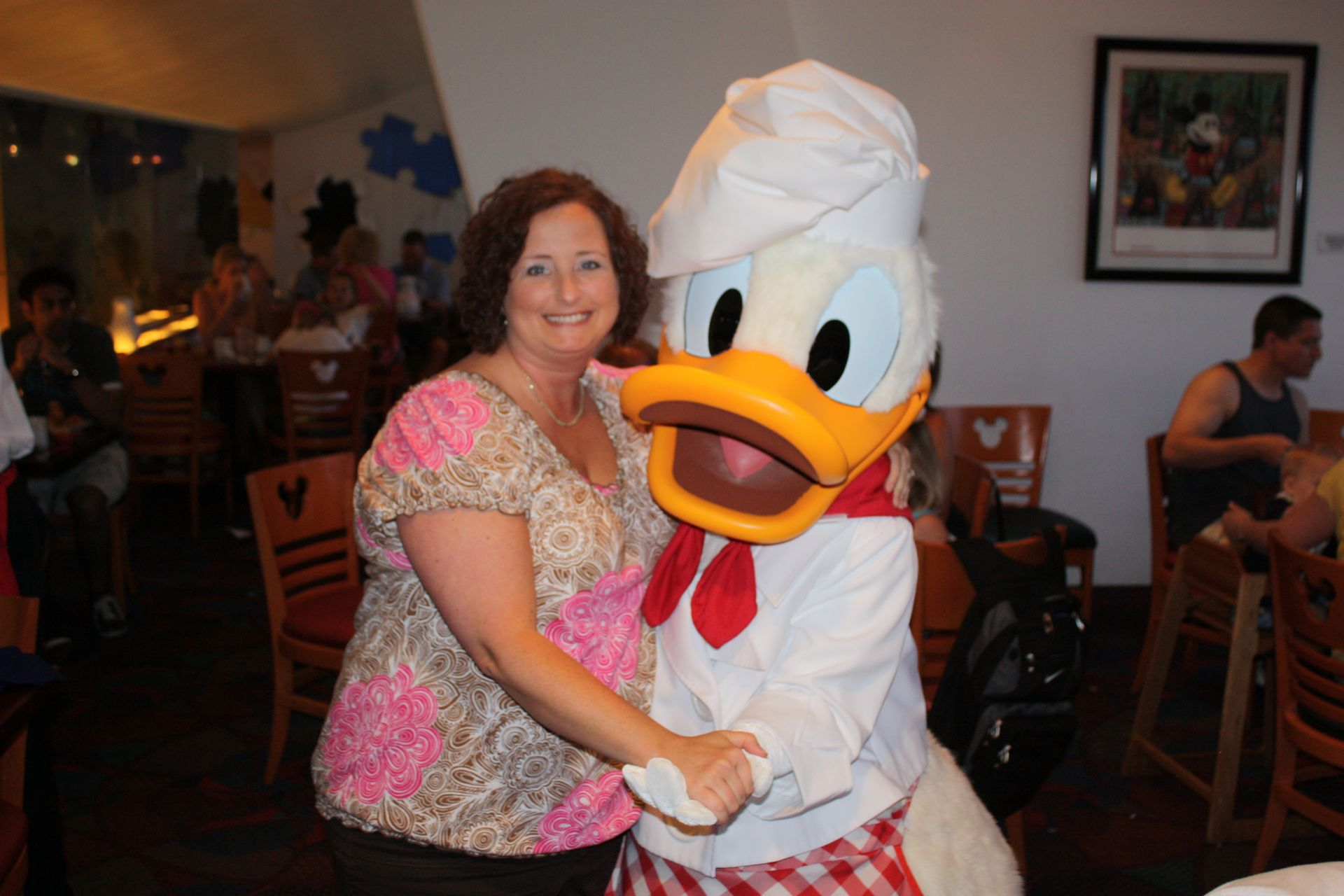 lady with donald