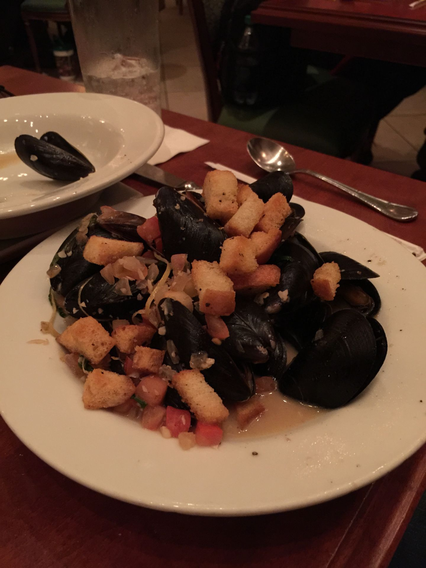 mussels at be our guest